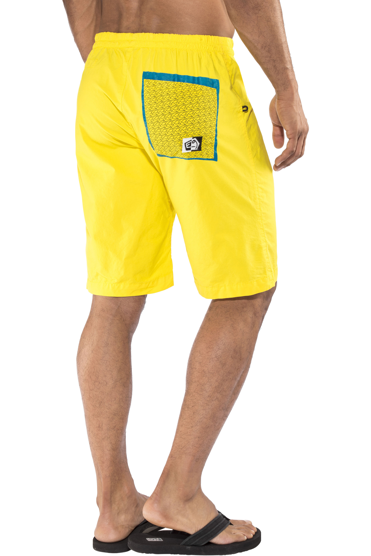 E9 3D - Shorts Homme - jaune sur CAMPZ ! 9ad2f501c51e